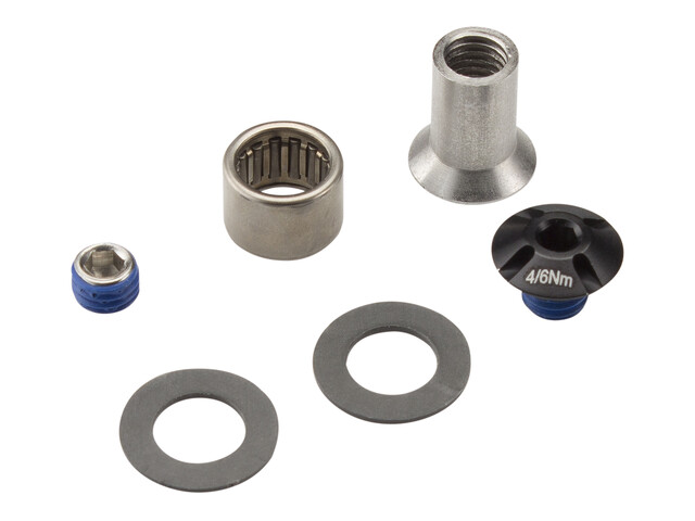 VOTEC Bearing Kit Horstlink/Seat stay black/silver